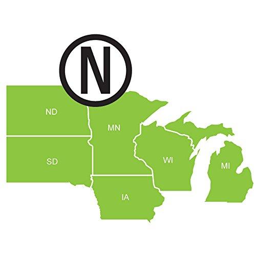 cwr Navionics HotMaps Platinum Lago Mapas–Norte–MicroSD/SD