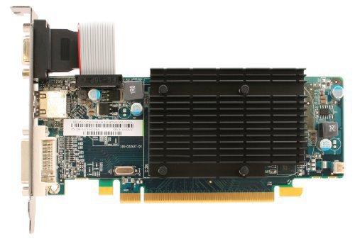 Sapphire Radeon HD5450 Grafikkarte (ATI Radeon HD 5000, 16x PCI-e, 512MB, DDR3 Speicher)
