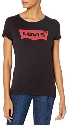 Levi's Perfect Tee Shirt Gris para Mujer Manga Corta