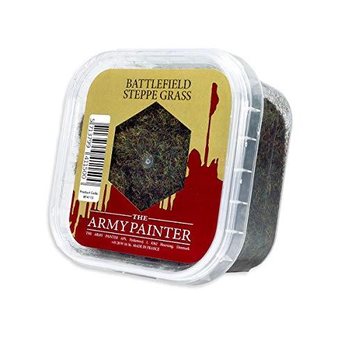 The Army Painter | Basing: Steppe Grass | ähnelt wildem oder trockenem Gras | Grundierung | für einen realistischen Look