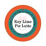 Smart Sips, Key Lime Pie Latte, Gourmet Latte Pods for Keurig K-cup Brewers, 24 Count