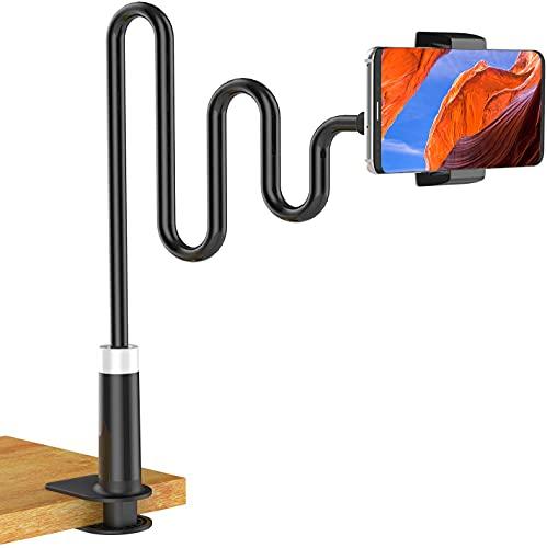 Soft digits Phone Holder, Gooseneck Mobile Phone Stand, Universal Clip Lazy...