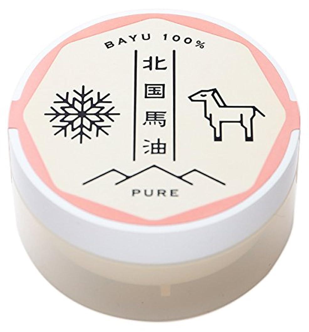 作動するつぼみ忍耐北国馬油ピュア(馬油クリーム)20g