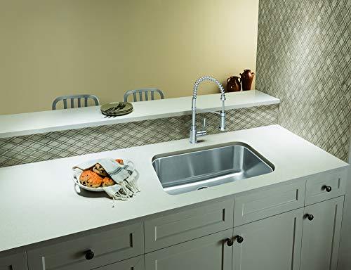 """BLANCO, Stainless Steel 441024 STELLAR Super Single Undermount Kitchen Sink, 28"""" X 18"""""""