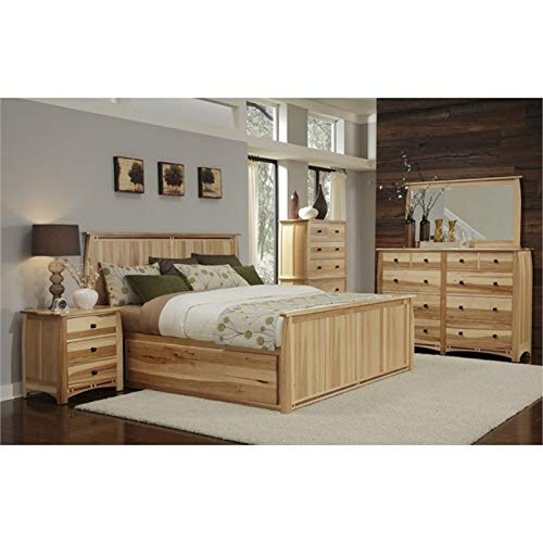 Review BOWERY HILL King Storage Bed in Natural