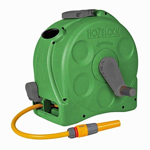 Hozelock compacte 2-in-1 slangbox met 25 m slang groen