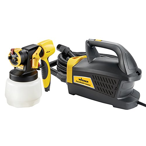 Wagner Spraytech Wagner 0529017 PaintReady Station HVLP Paint Sprayer, Yellow/Black