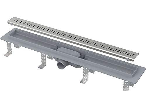 Preisvergleich Produktbild Duschrinne Ablaufrinne Bodenablauf APZ9 75 cm komplett mit Rost