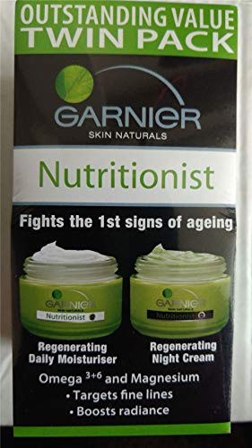 Garnier Nutritionist Regenerating Daily Moisturiser & Night Cream Twin Pack