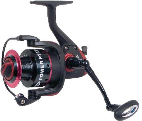 Fladen Power XTFX - Carrete de Giro de caña de Pesca de lanzado y Pesca, tamaño 30 UK, Color Negro/Rosa