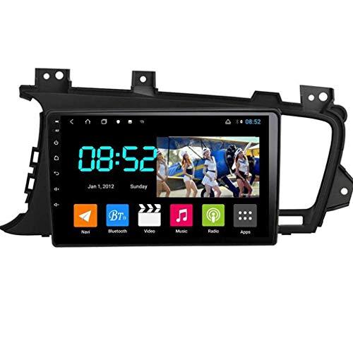Android 8.1 Navegación GPS Autoradio 9' 1080P HD Touch Screen Stereo TV para Kia K5 2011-2015 con control en el volante Bluetooth manos libres Mirror Link DAB MP5 SWC 4G + WiFi 4G + 64G