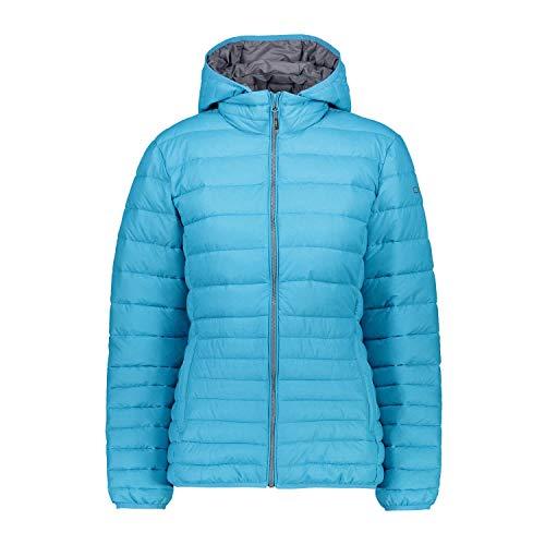 CMP Damen Daunenjacke Woman Zip Hood Jacket 39Z0266 Curacao Mel. 48