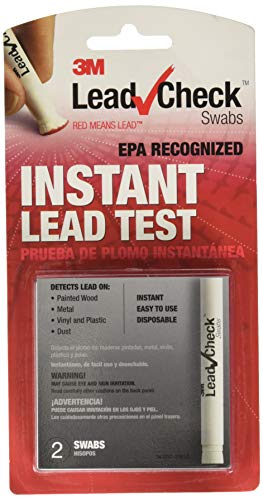 3M Lead Check Swabs (Pack of 2), Instant Lead Test (LC-2S24C)