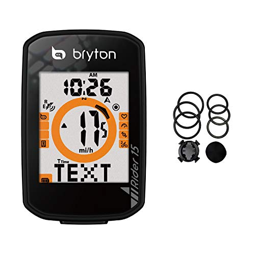 Bryton Rider 15 GPS Cycle Computer. Your First GPS Bike Computer, Ease of use, no...