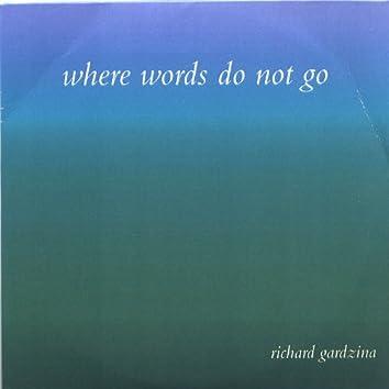 Where Words Do Not Go