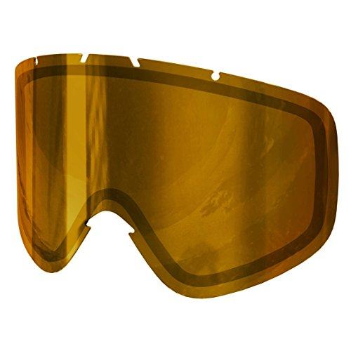 POC Iris Spare Lens Unisex Ersatzscheibe, Pink/Gold Mirror, Small