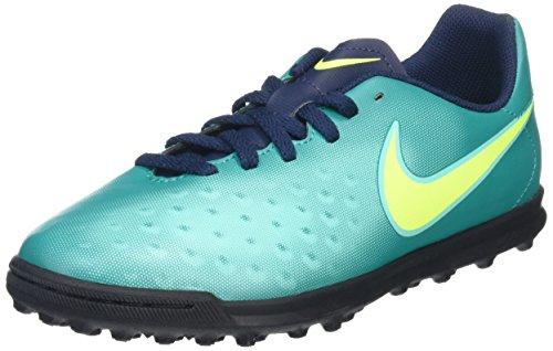 Nike Unisex-Kinder Magista Ola II TF Fußballschuhe, Türkis (Rio Teal/Volt-Obsidian-Clear Jade), 38 EU