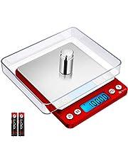 Brifit precisieweegschaal 0,01 g, digitale weegschaal 500 g/0,01 g