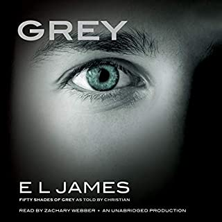 Grey     Fifty Shades of Grey as Told by Christian              By:                                                                                                                                 E. L. James                               Narrated by:                                                                                                                                 Zachary Webber                      Length: 18 hrs and 53 mins     15,115 ratings     Overall 4.5