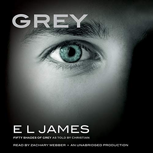 Grey     Fifty Shades of Grey as Told by Christian              Auteur(s):                                                                                                                                 E. L. James                               Narrateur(s):                                                                                                                                 Zachary Webber                      Durée: 18 h et 53 min     40 évaluations     Au global 4,4