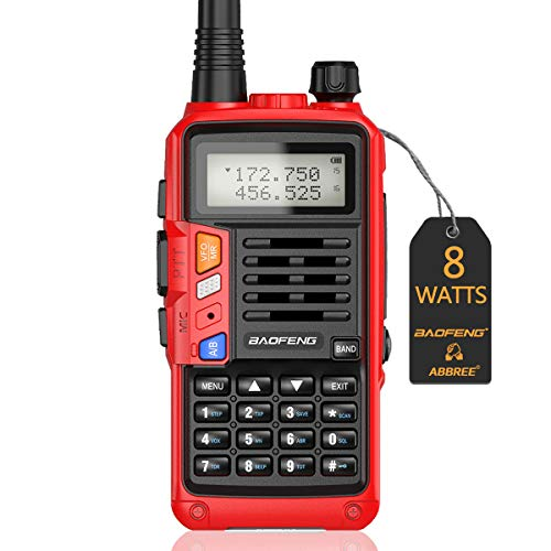 BaoFeng UV-S9 Plus 2200mAh Larger Battery with USB Charger Cable Rechargeable Ham Two Way Radio(Red). Buy it now for 29.99