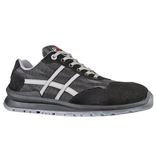 Upower UF20186-41, Industrial Shoe Mixte, Gris, 41 EU
