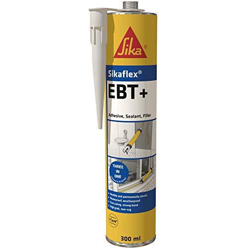 SikaFlex EBT+ Adhesive, Sealant and Filler, Black, 300 ml