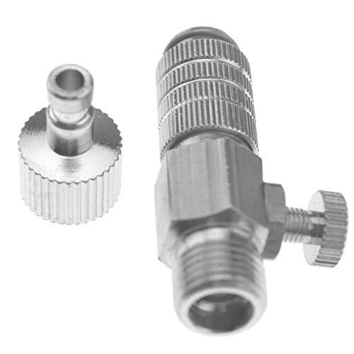 LAQI 1/8' Air Adjustment Adapter Tool Ventil Kupplung Airbrush Disconnect Quick...