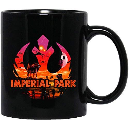 Imperial Theme Park Star Wars Colorido Darth Star Yoda Darth Vader Divertido Meme Disfraz Drama Sitcom Tazas Café o Té