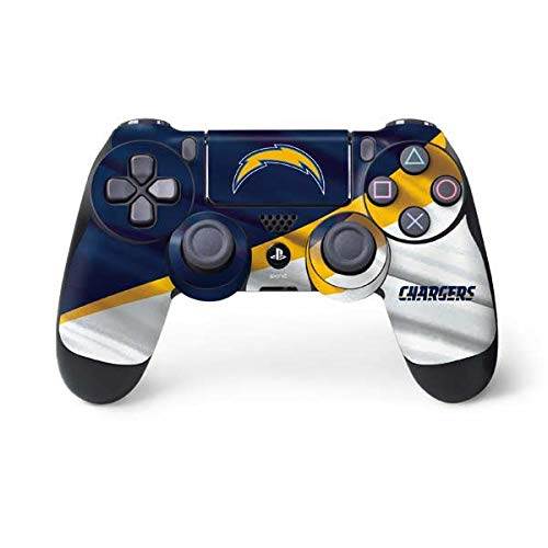 Skinit Decal Gaming Skin for PS4 Controller - Officially Licensed NFL Los Angeles Chargers Design