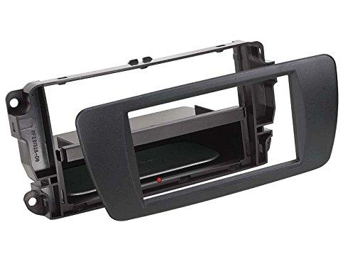 Acv Adaptateur de façade Soft Touch 2-DIN Inbay® Seat Ibiza 2008 > nit Noir