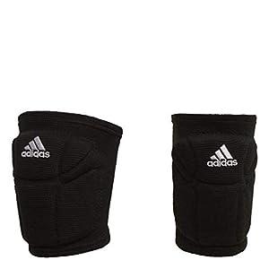 adidas Unisex-Adult Elite Knee Pad Core Black/White Medium