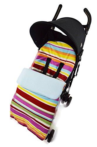 Pijama de Forro Polar para para sillas de paseo Silver Cross Surf Wayfarer Candy azul