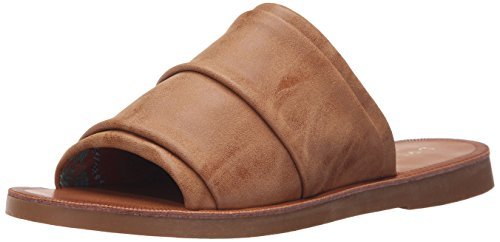 Dirty Laundry by Chinese Laundry Women's Best Buds Slide Sandal, Tan Smooth, 8.5 M US