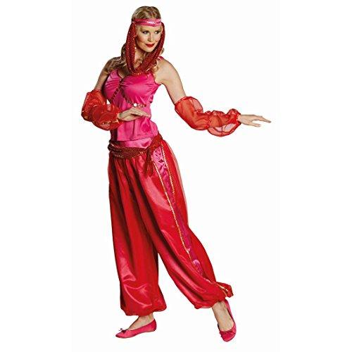 Amakando Disfraz oriental de princesa M 40, danza del vientre para mujer, traje vaquero para danza del vientre, disfraz de carnaval, disfraz de harén sexy para mujer, disfraz de bailarina del vientre