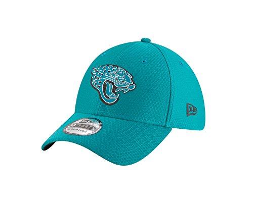 New Era - NFL Jacksonville Jaguars Official 2018 Training Secondary 39Thirty Stretch Cap - Grün Größe Medium, Farbe Grün