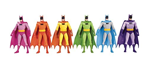 DC Collectibles Batman: Rainbow Action Figure (6 Pack)