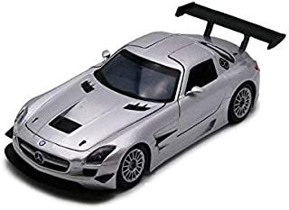 Motormax–73356–Vehicle Miniature–Model–Mercedes SLS AMG GT3–2012–Scale 1: 24Scale - Assorted Color