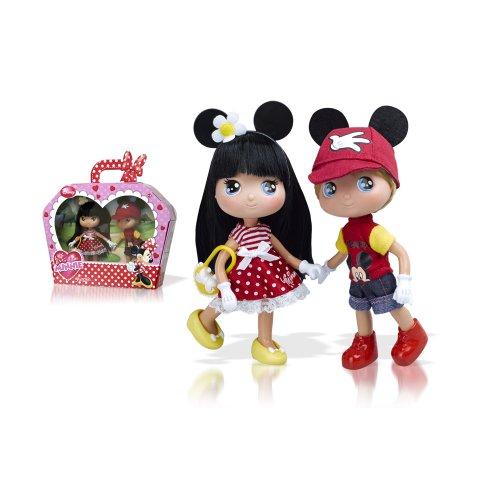 I love Minnie - Muñecos niña y niño (Famosa 700010394)
