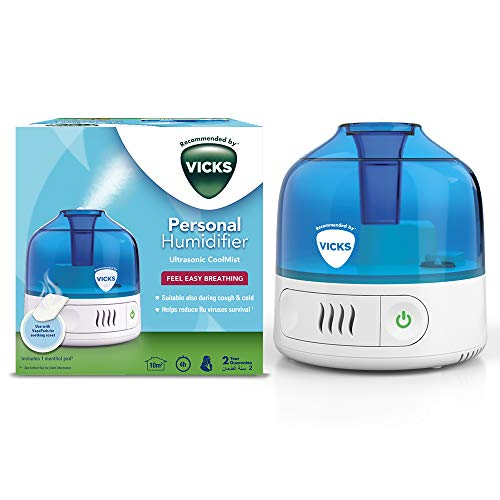 Vicks VUL505 Cool Mist Personal Humidifier, Wh