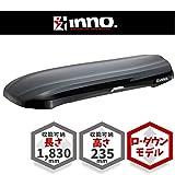 カーメイト INNO イノ― ウェッジ 660 ブラック ルーフボックス 大容量 ローダウンモデル BRM660BK