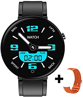 $21 » MeterMall DT78 Men Women Smart Bracelet Fitness Watch Color Screen Heart Rate Sleep Monitor Step Count Health Exercise black Electronic Accessories