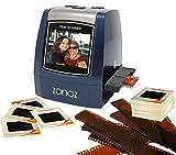 ZONOZ FS-3 22MP All-in-1 Film & Slide Converter Scanner, Speed-Load Adapters for 35mm, 126, 110 Negative & Slides, Super 8 Films - Worldwide Voltage 110V/240V AC Adapter