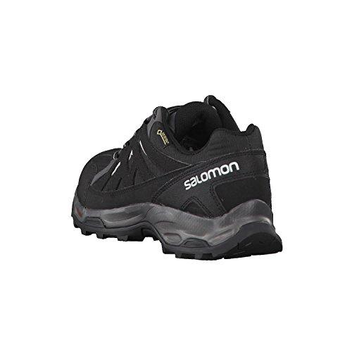 Salomon Salomon Damen Effect GTX W Trekking- & Wanderhalbschuhe, Grau (Phantom/Black/Dawn Blue 000), 37 1/3 EU