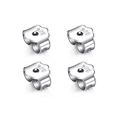 Amazon - 80% Off on 2 Paris Earring Backs Replacements