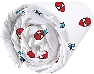 Spiderman Drap Housse 90X190 Cm 100% Coton Protector