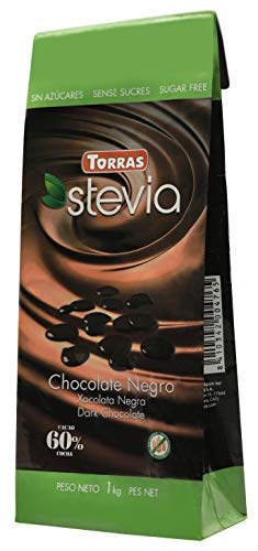 Torras Stevia Schokoladen Drops (1000g)