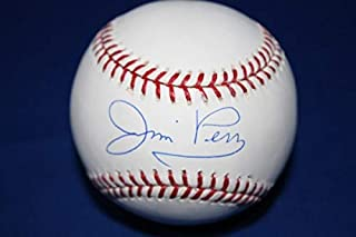 Jim Perry 64 World Champs Autographed Signed Baseball - Certified Authentic