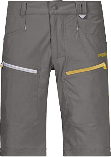 Bergans Utne Short Adolescents, Green mud/Waxed Yellow Taille Enfant 128 2020 Shorts