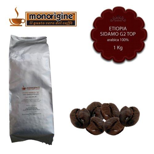 Caffè in Grani Etiopia Sidamo G2 Top 1 kg - Caffè Monorigine Arabica 100%
